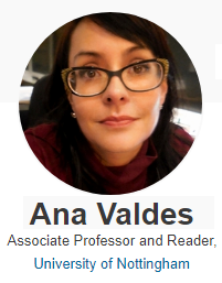 Ana Valdes - Associate Professor and Reader, University of Nottingham